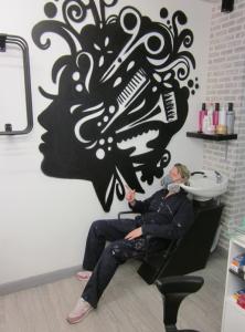 Hairdresser's Interior, Barnet.